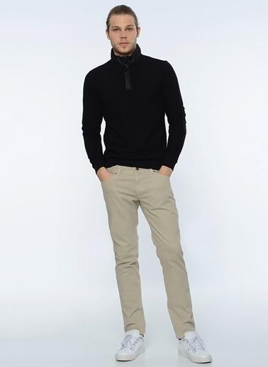 Yakası Fermuarlı Sweatshirt-George Hogg